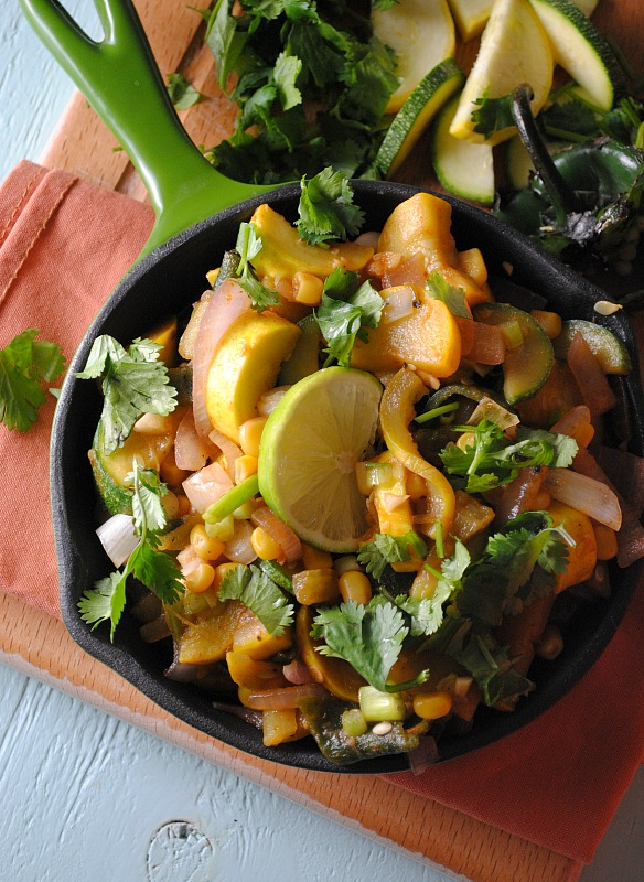 Calabacitas Recipe from Cooking Light