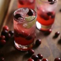 Cranberry Chilcano