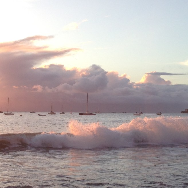Sunset in Lahaina, Maui, Hawaii
