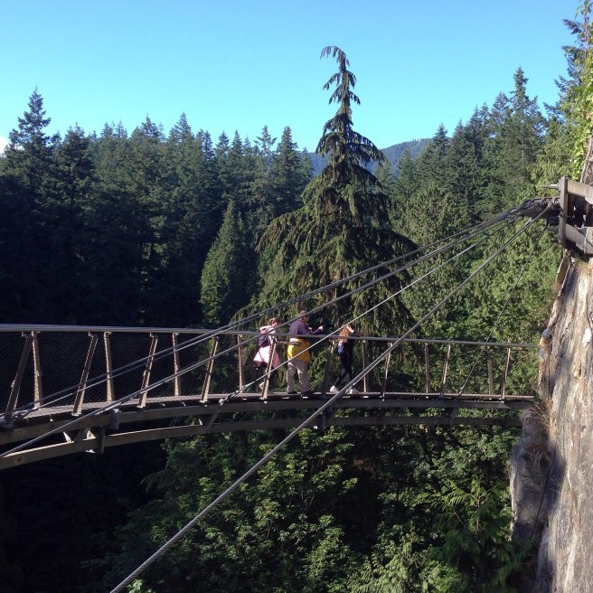 Cliff Walk, Capilano Suspension Bridge, British Columbia