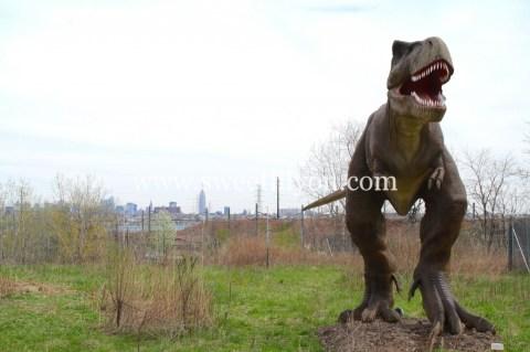 T Rex NYC view