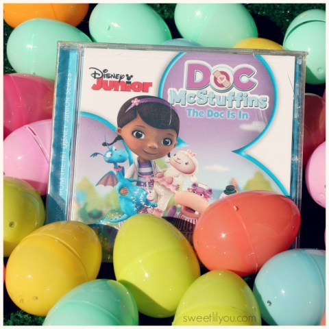 Doc McStuffins The Doc Is In CD from Disney! Sing into Spring!