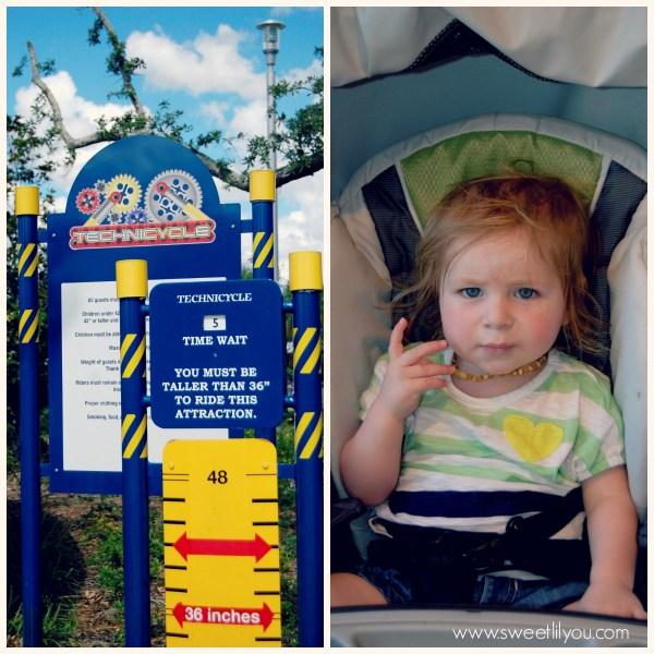 Height requirements at Legoland FL