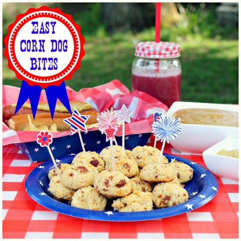 Easy corn dog bits #pricechopperbbq #shop