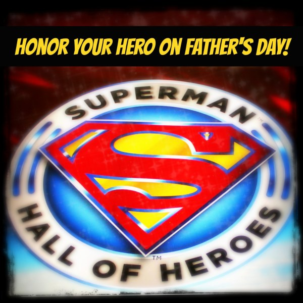 Honor Your Hero Superman Hall of Heros #sponsored