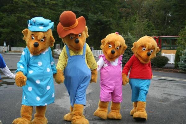berenstain bears at edaville