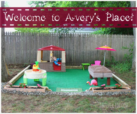 Welcome to Avery's DIY Outdoor Play Space!