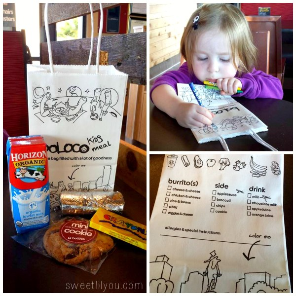 Boloco kids meal