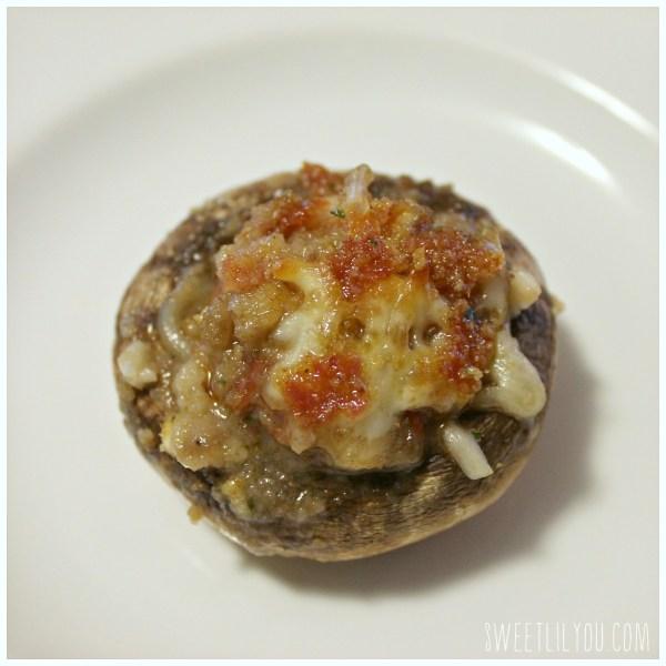 Hormel Pepperoni Stuffed Mushrooms - #PepItUp #ad