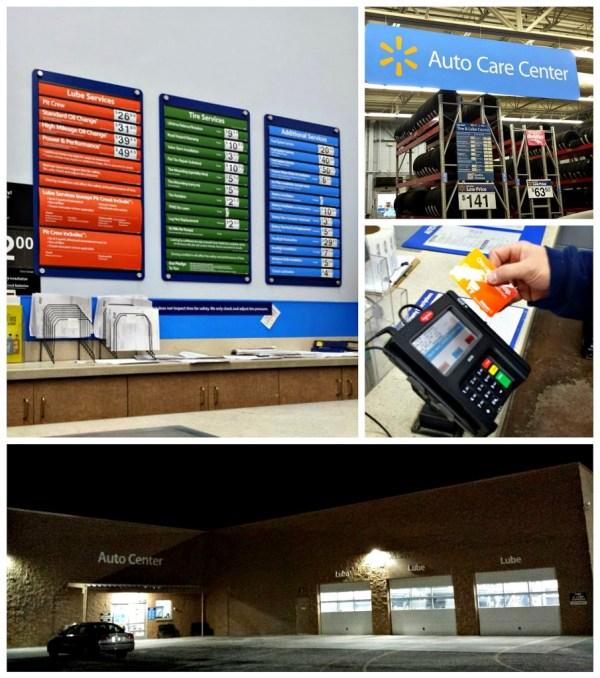 Auto Care Center at Walmart #DropShopAndOil