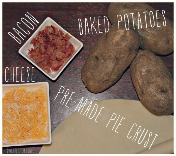 Ingredients for Smashed Potato Bites
