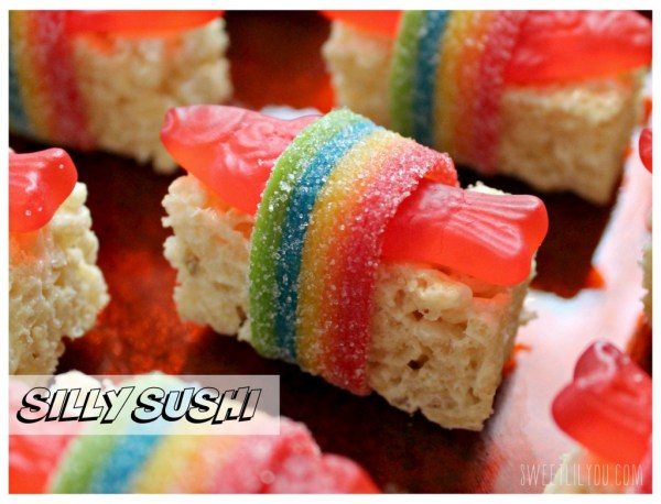 Silly Sushi for Kids! Candy sushi