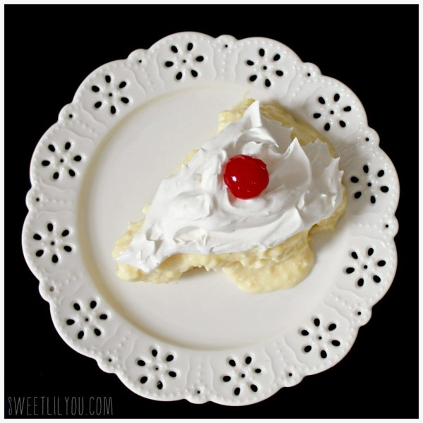 pineapple pudding cake - easy recipe