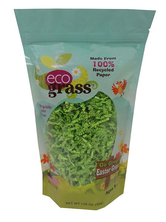 eco grass naturaul recycled easter basket grass