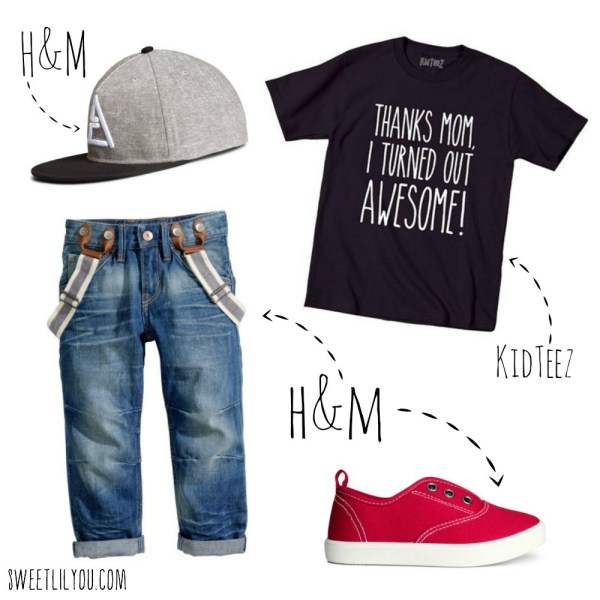 Boys style for mother's day