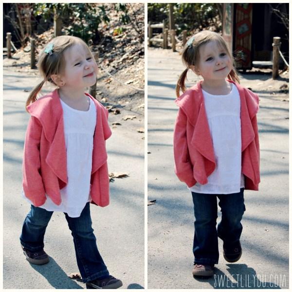 Fashionista on her birthday! Toddler fashion