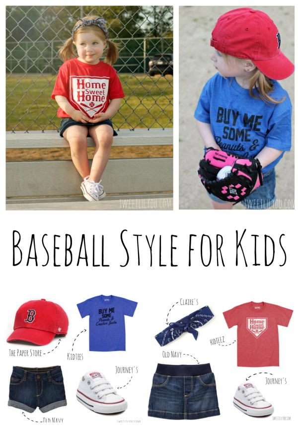 Baseball Style for Kids - Fashion Style Microfashion