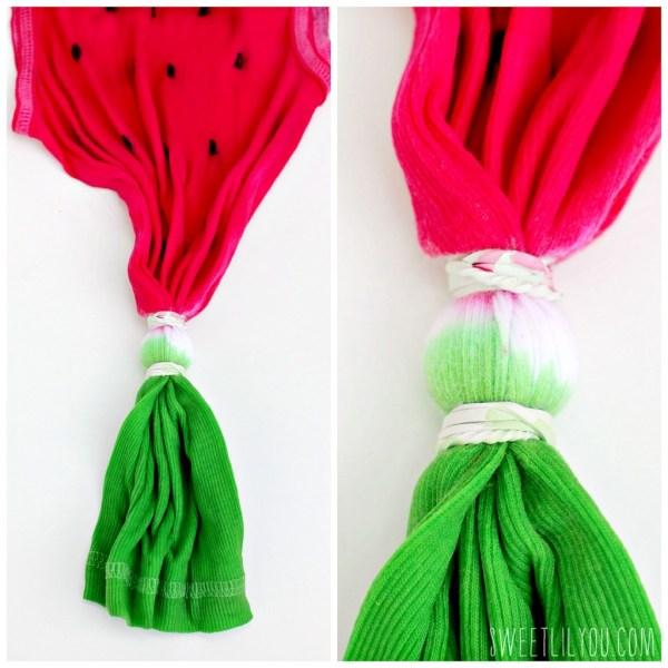 Tie Dye watermelon tee