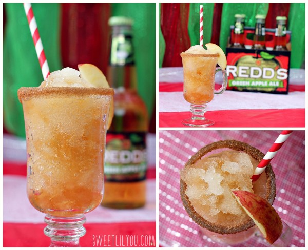 Redd's Apple Ale slush