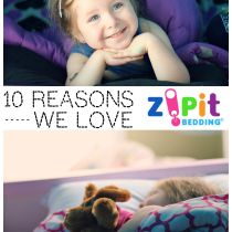 10 Reasons We Love Zipit Bedding - Review {ad}