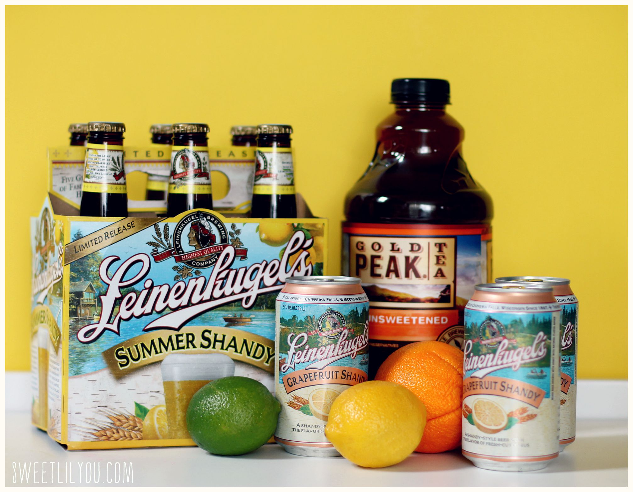 Where to buy leinenkugel s grapefruit shandy - Leinenkugel S Shandy And Gold Peak Tea I M Not Really A Wine Drinker I M More Of A Beer Whiskey Girl But I Do Love Sangria I Thought It Would Be Fun To