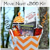 Movie Night BOO Basket! #BooItForward (ad)