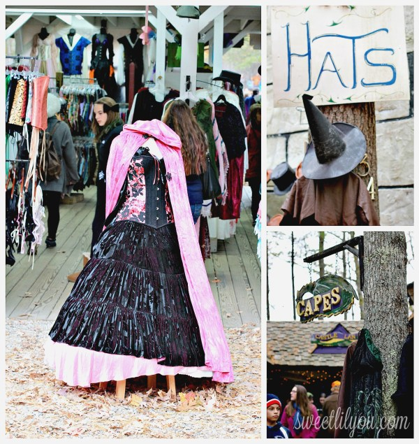 Shopping at King Richards Faire