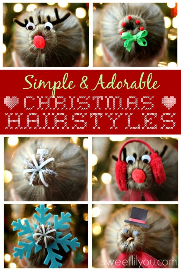 Simple Christmas Hairstyles