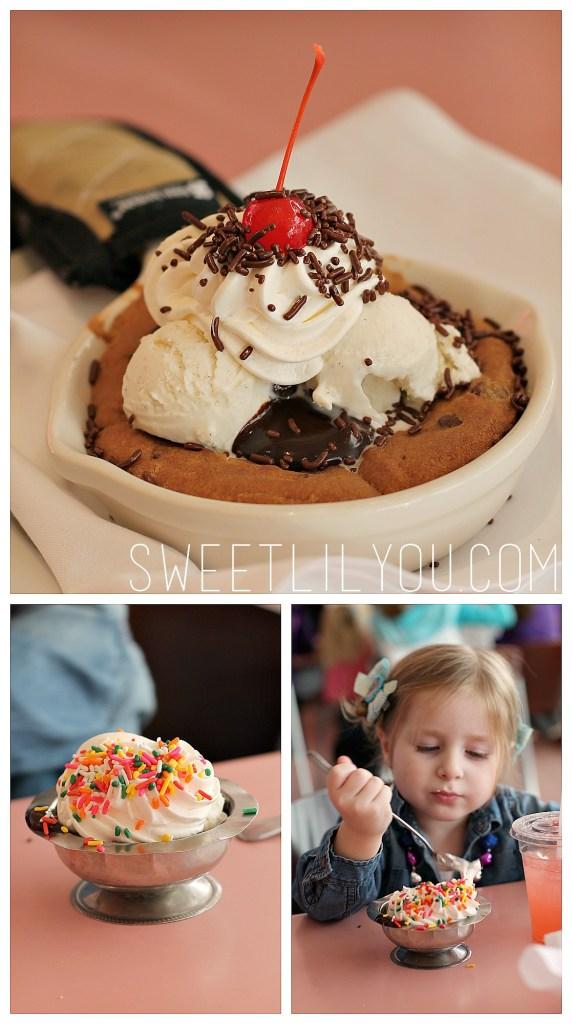 American Girl Cafe Dessert