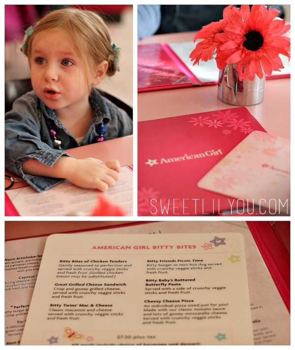 Bitty Bites Menu for Kids Under 4