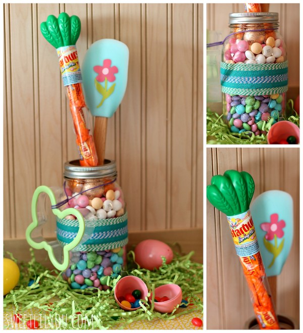 Easter Gift Jar for Baker