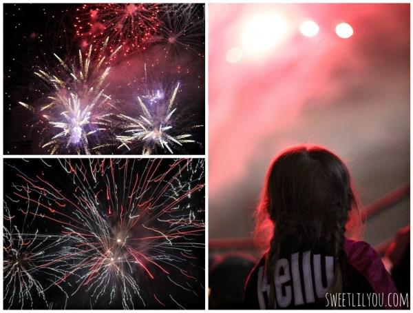 Fireworks at McCoy