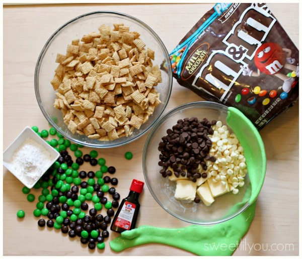 Ingredients for Slimer mix