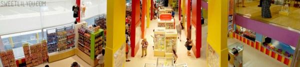 PEZ Visitor Center panorama