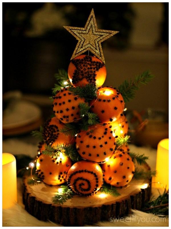 orange pomander tree