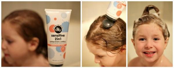 SoCozy Hush Sensitive 2 in 1 shampoo