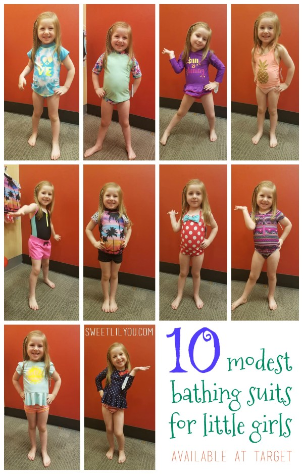 10 Modest Bathing Suits for Little Girls