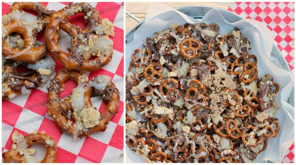s'mores pretzels a perfect summertime snack