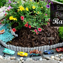 Easy DIY Backyard Racetrack