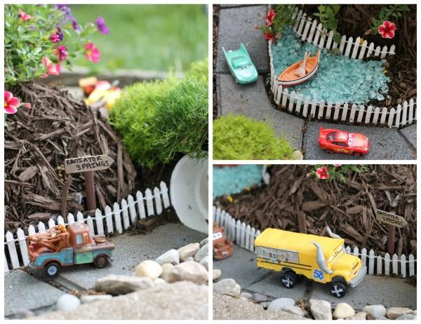 Fun Cars 3 themed garden race track
