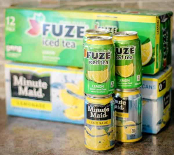 Fuze Tea Minute Maid Lemonade