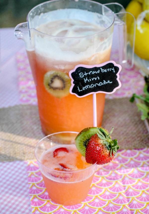 Strawberry Kiwi Lemonade