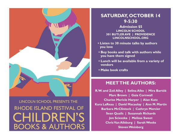 Rhode Island Festival of Children's Books and Authors