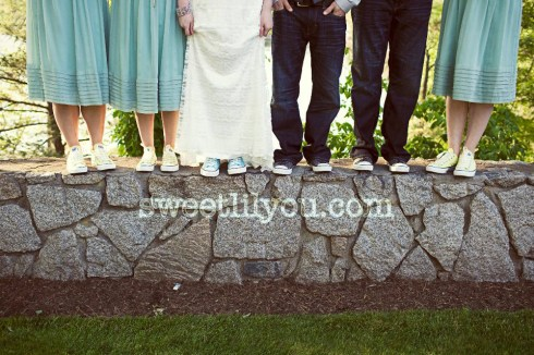 chuck taylor wedding converse shoes nike different unique bridal party footwear