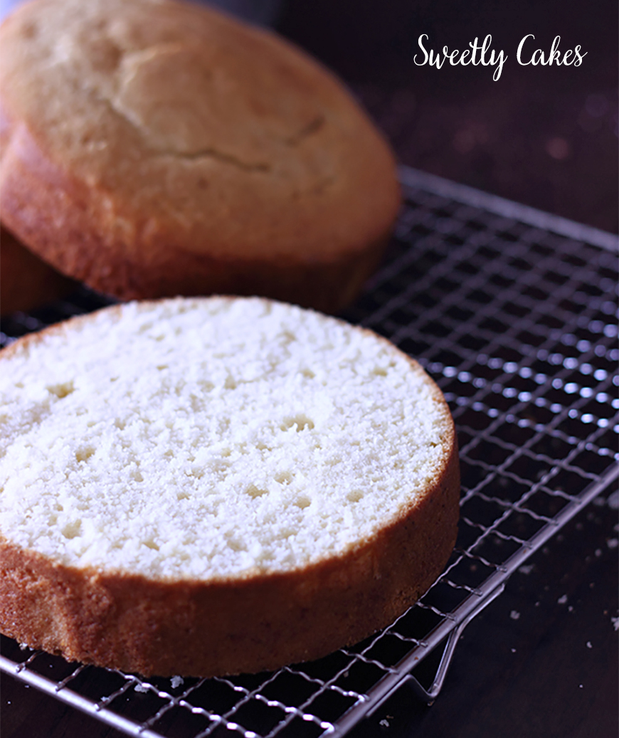 Gâteau white cake