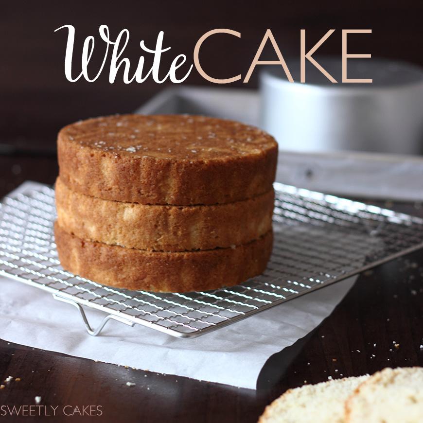 white cake recette