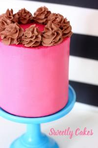 layer cake framboise et chocolat