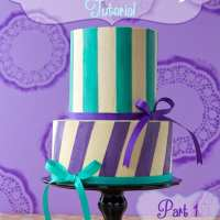 Perfect Buttercream Stripes ~ {Part One}