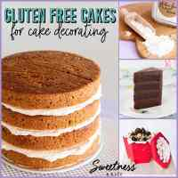 Gluten Free Cakes for Decorating