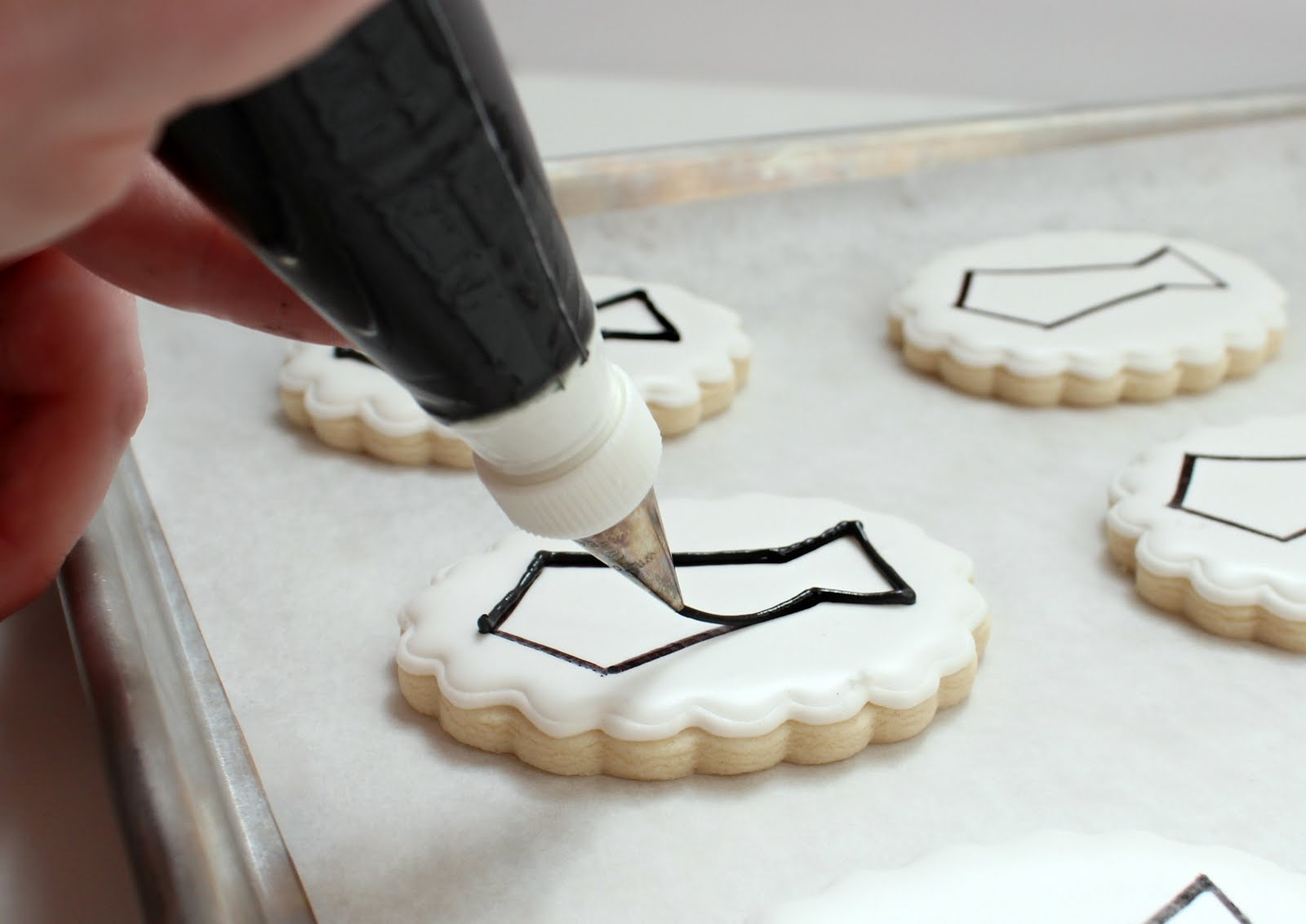 Making a Paper Cookie Stencil     The Sweet Adventures of Sugar Belle